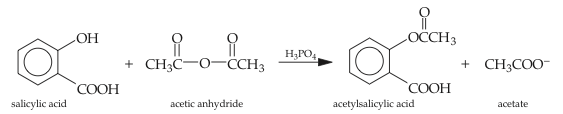 aspirin synthesis mechanism